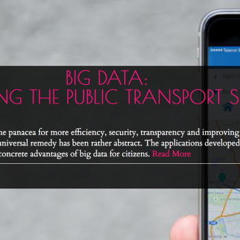 Big Data: Improving the Public Transport System
